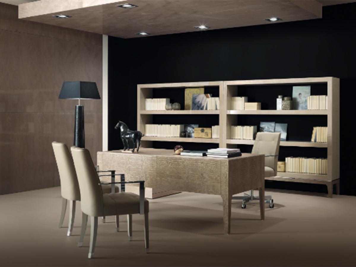 Фото 10 - Итальянская мебель для кабинета Mplace фабрики Malerba в стиле минимализм