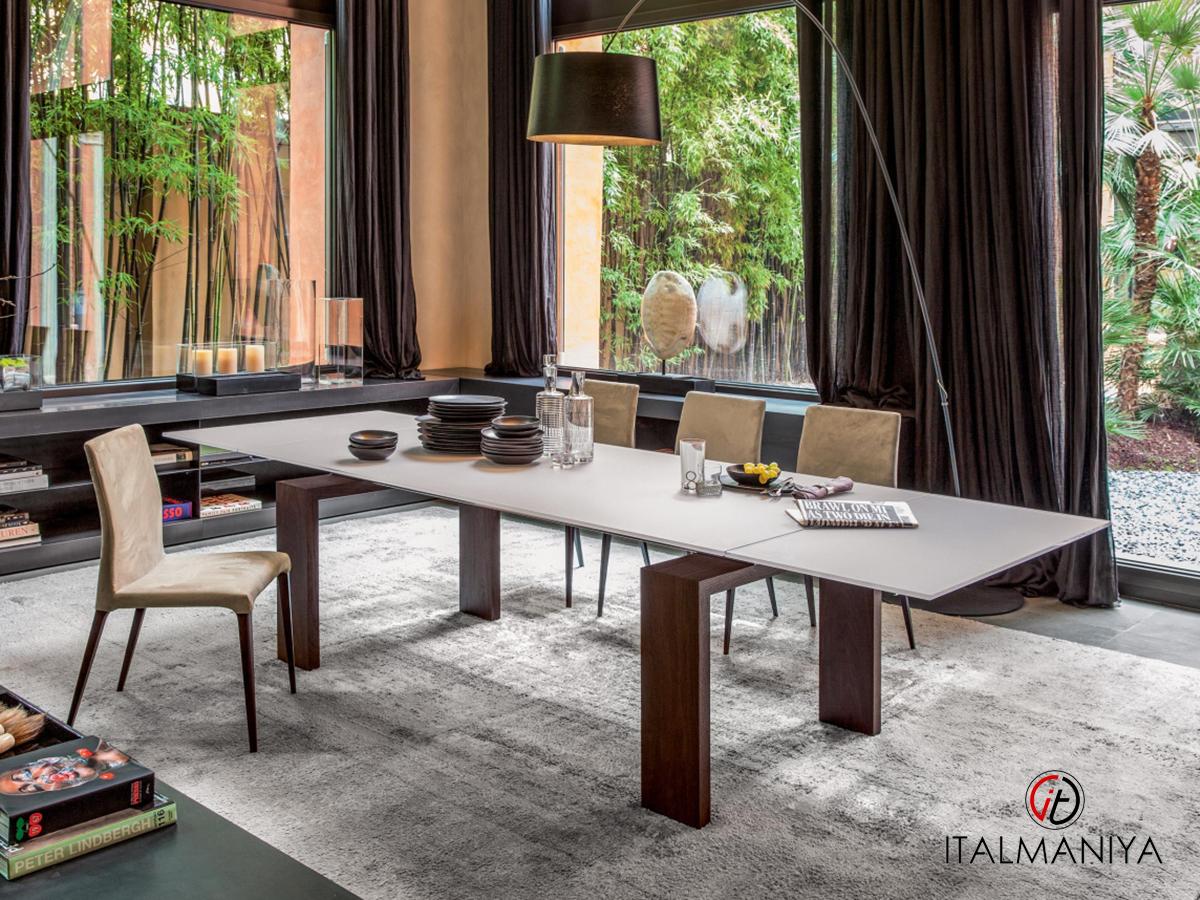 Фото 3 - Дизайнерский обеденный стол Brooklyn Tonin Casa