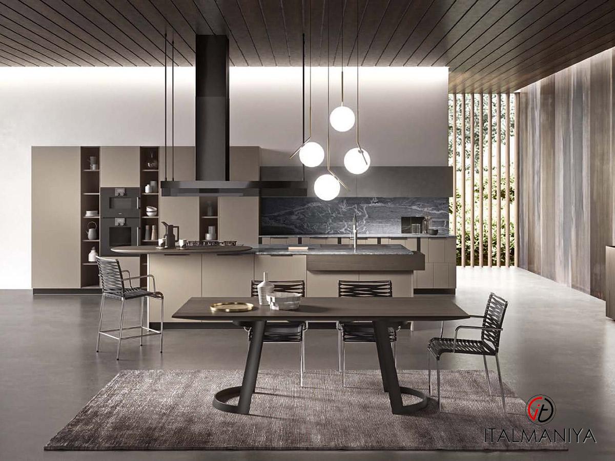 Фото 7 - Дизайнерский обеденный стол на кухне Brera Aster