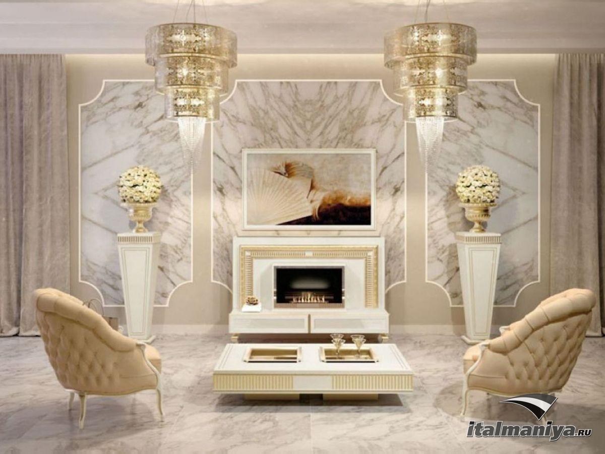 Фото 2 - Классическая гостиная Art Deco фабрики Vismara по мотивам античного средиземноморья
