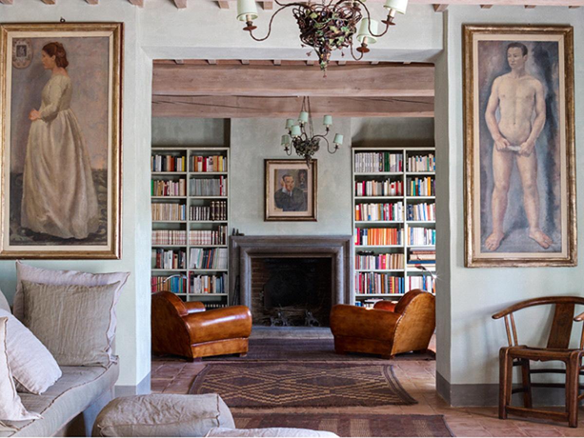 Фото 3 - Итальянский стиль в интерьере реставрированной тосканской виллы, ранее принадлежащей Армани (фото Жан-Пьера Габриэля)