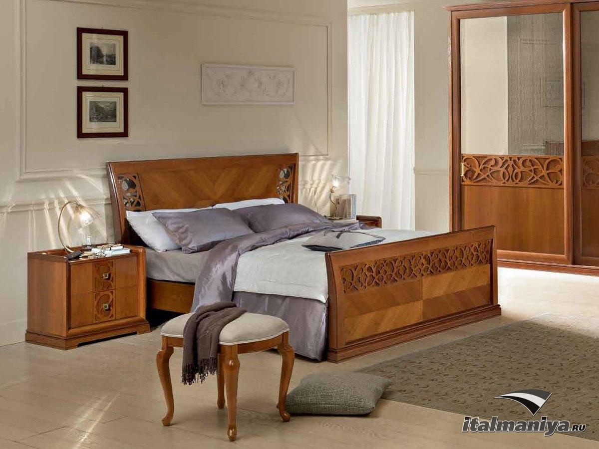 Фото 4 - Спальный гарнитур Rossana фабрики Aritali выполнен в лучших традициях мебельных мастеров Италии
