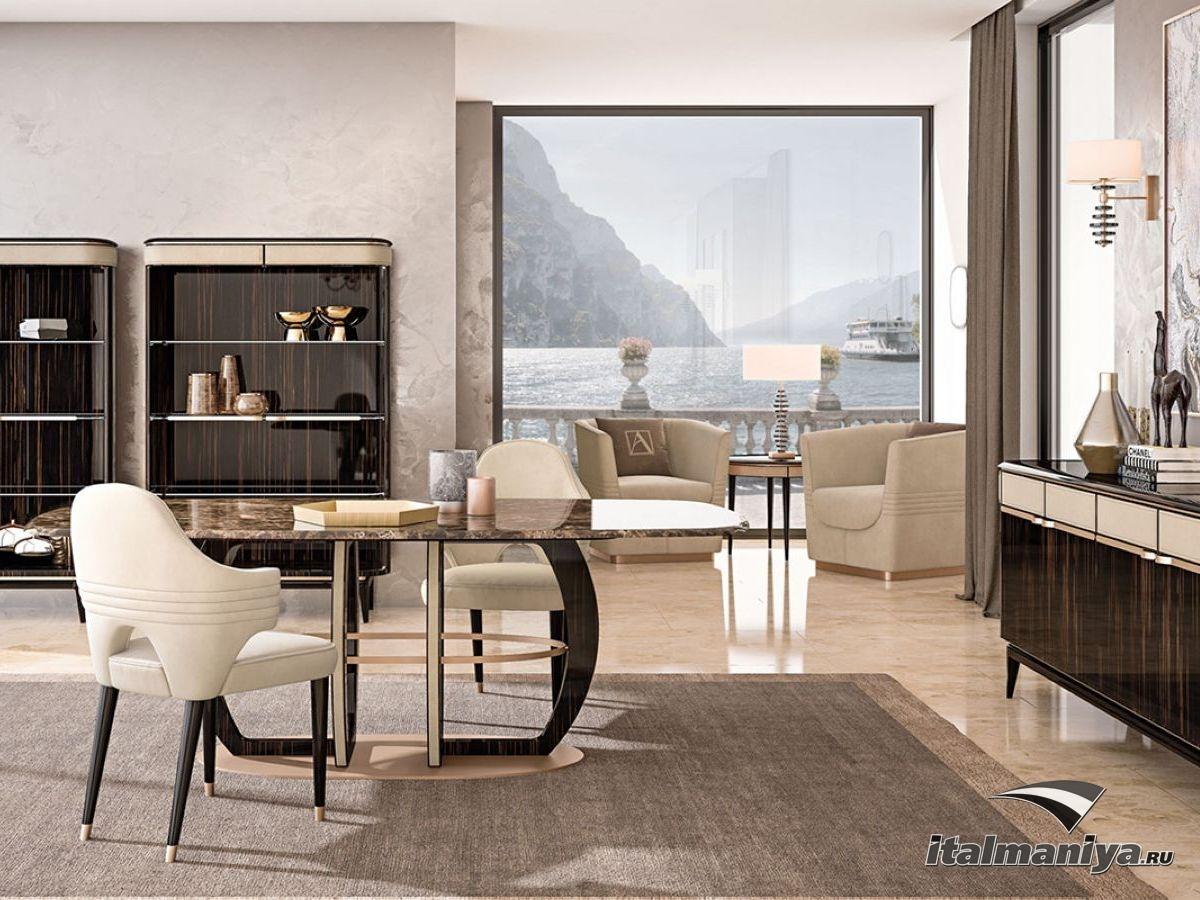 Фото 5 - Изящная гостиная Atelier фабрики Antonelli Moravio в интерьере квартиры на средиземноморском побережье