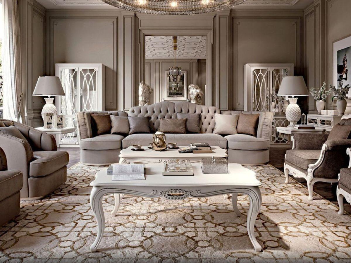 Фото 7 - Итальянская гостиная Villa фабрики Cavio в современном стиле