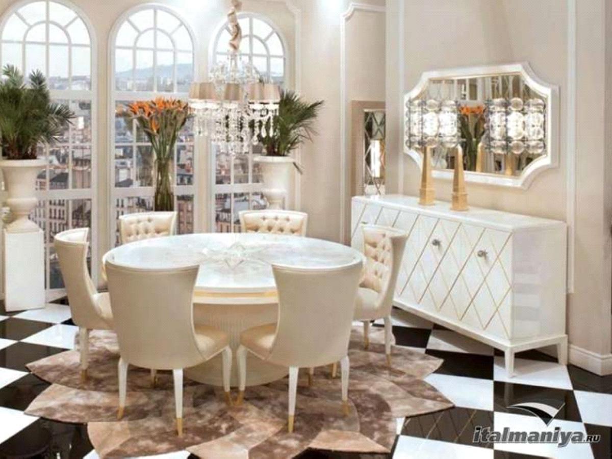 Фото 1 - Итальянская гостиная Gatsby фабрики Cavio в стиле арт-деко