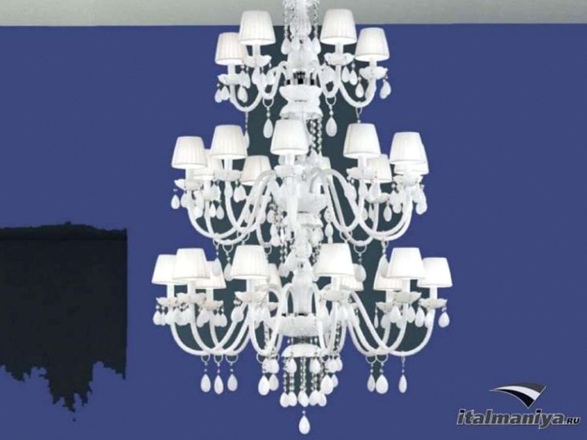 Фото 4 - Итальянская люстра 3587 фабрики Masiero в стиле арт-деко