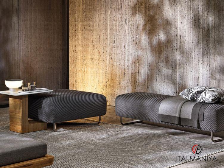 Фото 1 - Банкетка Sunray Luke фабрики Minotti (производство Италия) в современном стиле из массива дерева