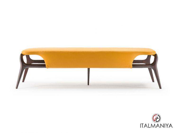 Фото 1 - Банкетка Vine фабрики Turri (производство Италия) в современном стиле из массива дерева