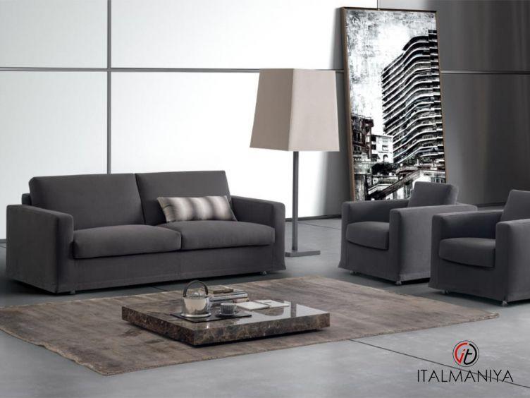 Фото 1 - Диван Metronotte фабрики Dema (производство Италия) в современном стиле из массива дерева