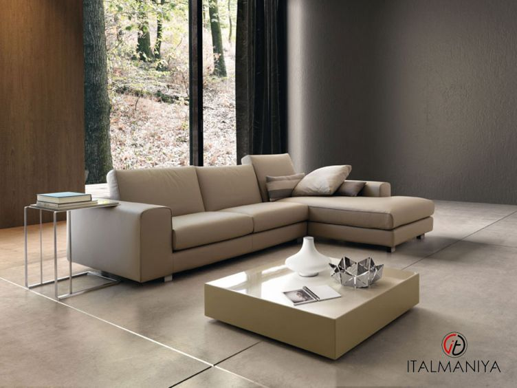 Фото 1 - Диван Altobasso Plus фабрики Dema (производство Италия) в современном стиле из массива дерева