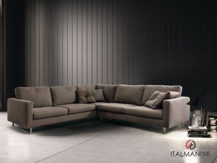 Фото 1 - Диван Dynamic Plus фабрики Dema (производство Италия) в современном стиле из металла