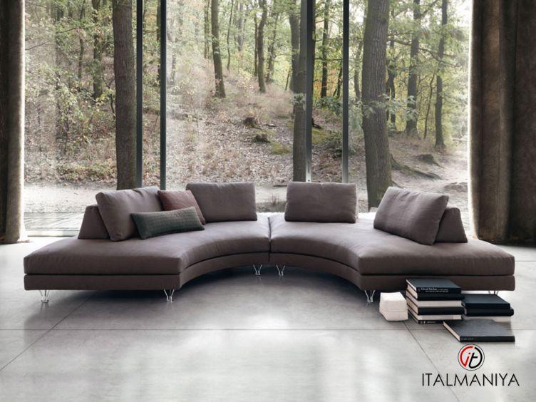 Фото 1 - Диван Fly фабрики Dema (производство Италия) в современном стиле из массива дерева