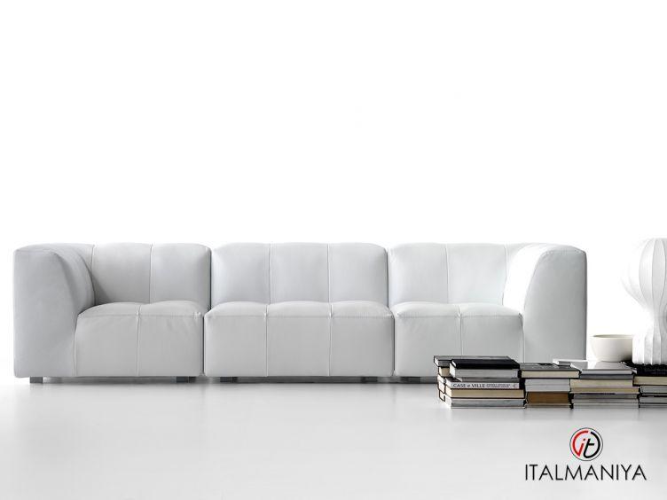 Фото 1 - Диван модульный Modulor фабрики Dema (производство Италия) в современном стиле из массива дерева