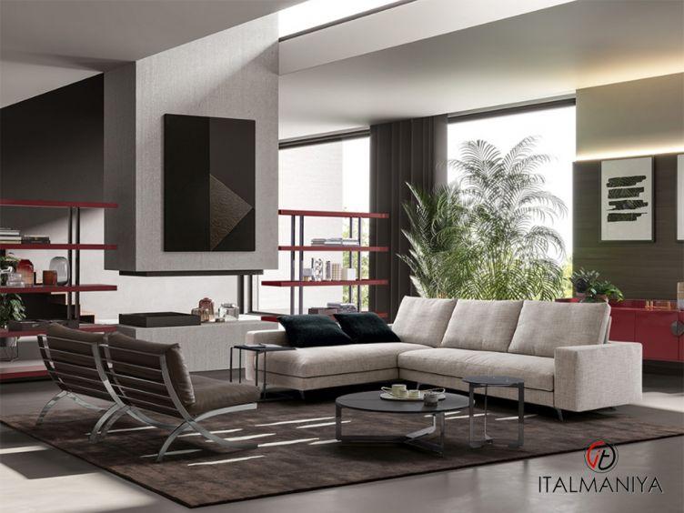 Фото 1 - Диван Newport фабрики Dema (производство Италия) в современном стиле из массива дерева