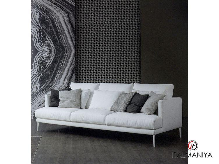 Фото 1 - Диван Paraiso фабрики Bonaldo (производство Италия) в современном стиле из металла