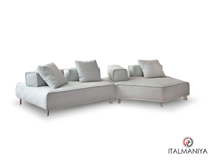 Фото 1 - Диван Tètra фабрики Bonaldo (производство Италия) в современном стиле из металла