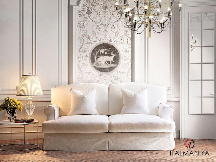 Фото 1 - Диван Grecale фабрики Keoma (производство Италия) в современном стиле из массива дерева