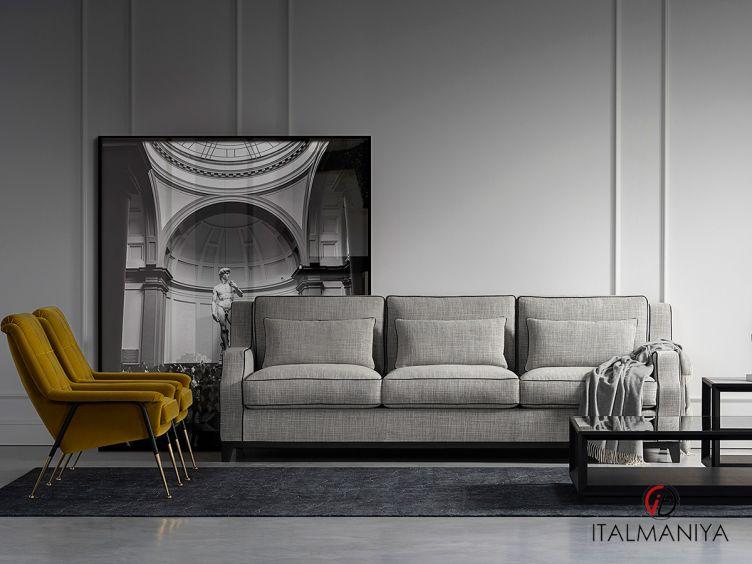 Фото 1 - Диван Neri фабрики Tosconova (производство Италия) в современном стиле из массива дерева