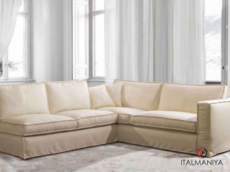 Фото 1 - Диван Dario фабрики Treci Salotti (производство Италия) в современном стиле из массива дерева