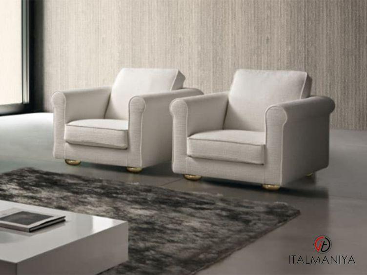 Фото 1 - Кресло Giasone фабрики Dema (производство Италия) в современном стиле из массива дерева
