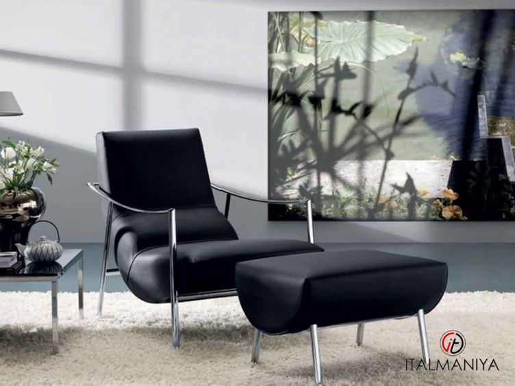 Фото 1 - Кресло Atul&Amit фабрики Bontempi Casa (производство Италия) в современном стиле из металла