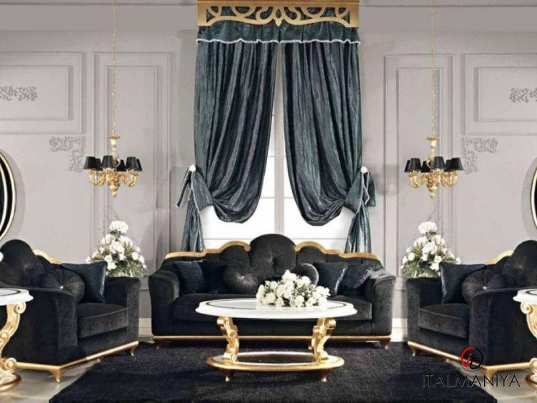 Фото 1 - Мягкая мебель Boulevard фабрики Bacci Stile (производство Италия) в классическом стиле из массива дерева