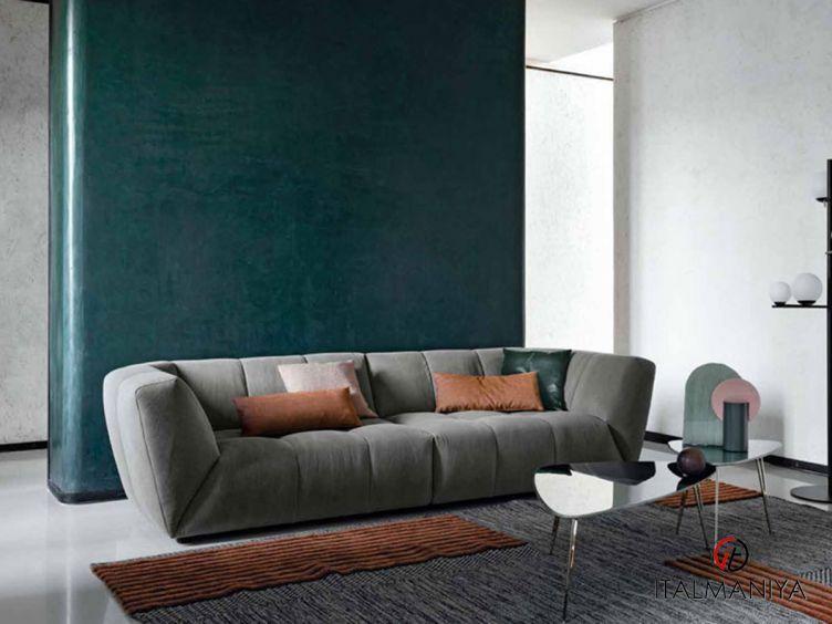 Фото 1 - Мягкая мебель Dumphy фабрики Bontempi Casa (производство Италия) в современном стиле из МДФ