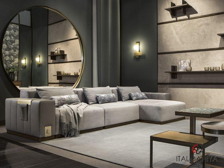 Фото 1 - Мягкая мебель Vietri фабрики Cantori (производство Италия) в современном стиле из МДФ