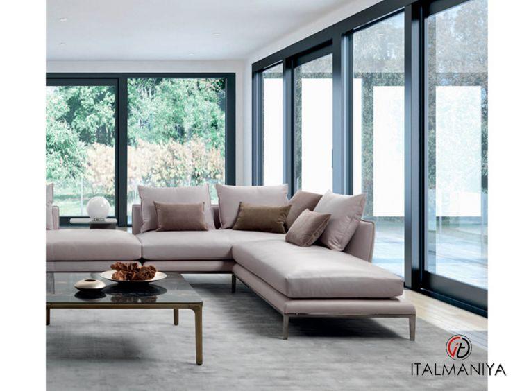 Фото 1 - Мягкая мебель Oliver фабрики Gyform (производство Италия) в современном стиле из массива дерева