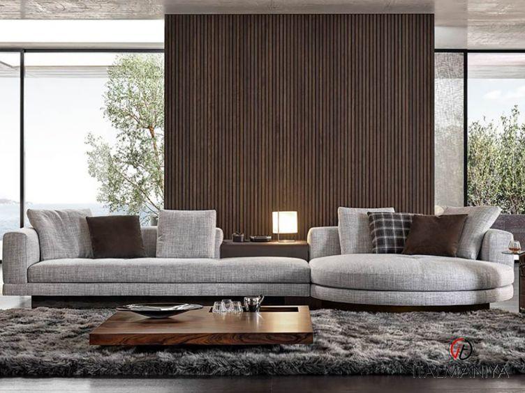 Фото 1 - Мягкая мебель Connery фабрики Minotti (производство Италия) в современном стиле из металла