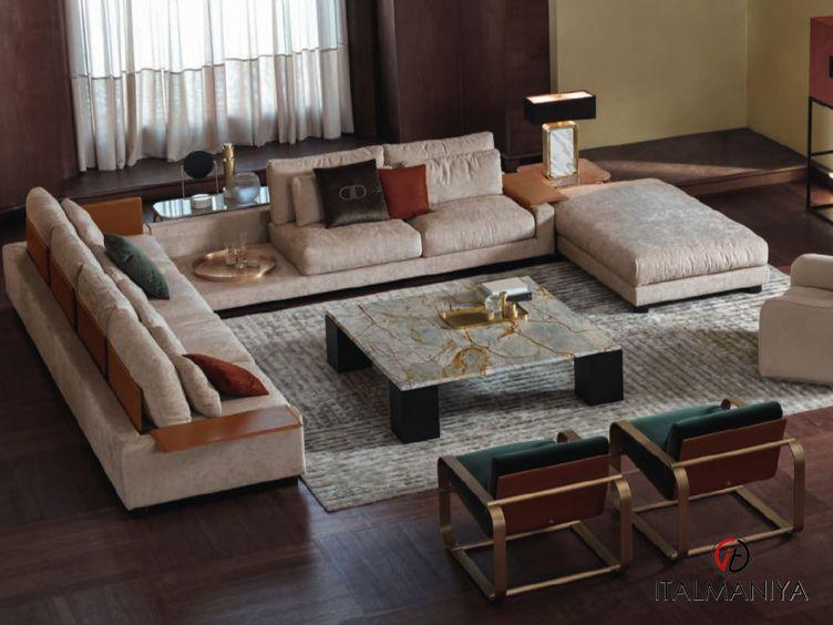 Фото 1 - Мягкая мебель Alabama фабрики Signorini & Coco (производство Италия) в современном стиле из массива дерева