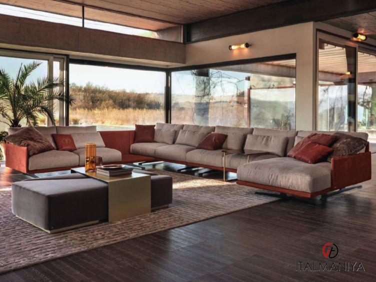 Фото 1 - Мягкая мебель Ventura фабрики Signorini & Coco (производство Италия) в современном стиле из массива дерева