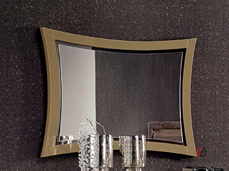 Фото 1 - Зеркало Domino фабрики Formerin (производство Италия) в современном стиле из массива дерева