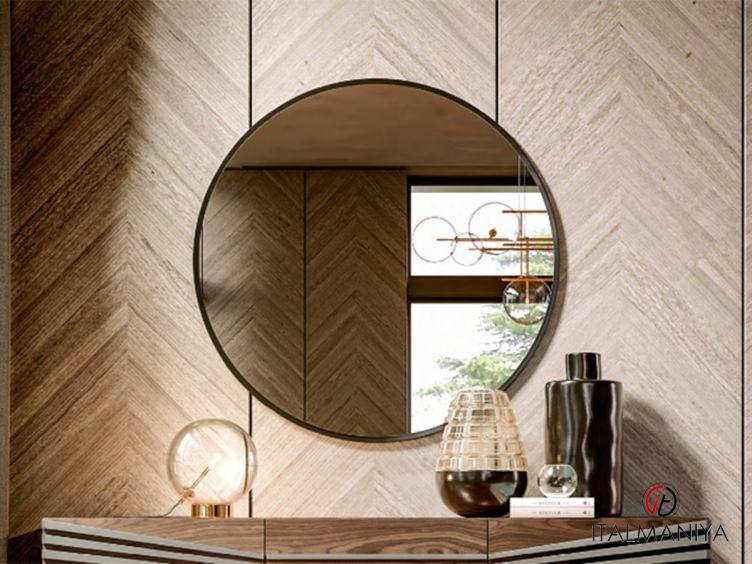 Фото 1 - Зеркало Fly фабрики Giorgiocasa (производство Италия) в современном стиле из металла