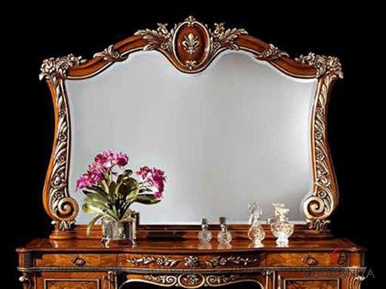Фото 1 - Зеркало для туалетного стола Firenze фабрики Barnini Oseo (производство Италия) в классическом стиле из массива дерева