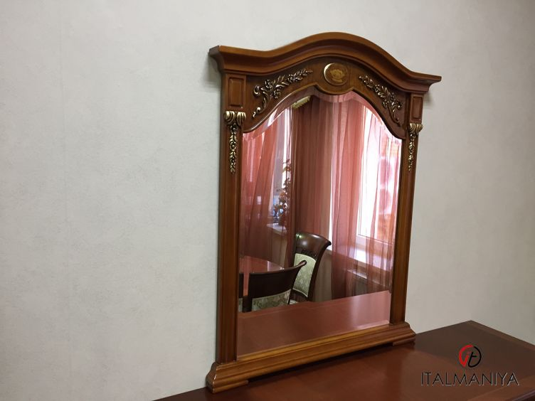 Фото 1 - Зеркало Reggenza Luxury 510448 фабрики Barnini Oseo (производство Италия) в классическом стиле из массива дерева