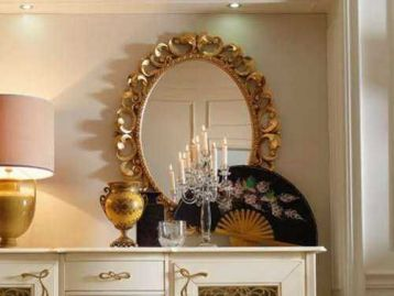 Зеркало золото Memorie veneziane Giorgiocasa