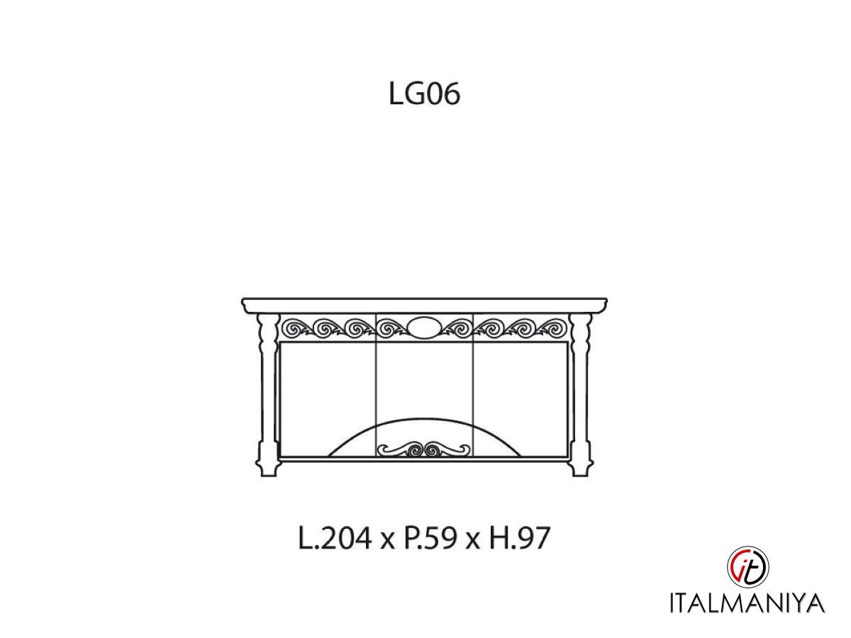 Фото 6 - Гостиная Luigi XVI фабрики Valderamobili