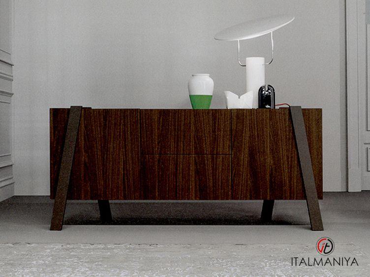 Фото 1 - Комод для гостиной для гостиной Note фабрики Bonaldo (производство Италия) в современном стиле из металла