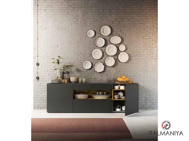 Фото 1 - Комод для гостиной для гостиной Metropolis фабрики Alf (производство Италия) в современном стиле из массива дерева