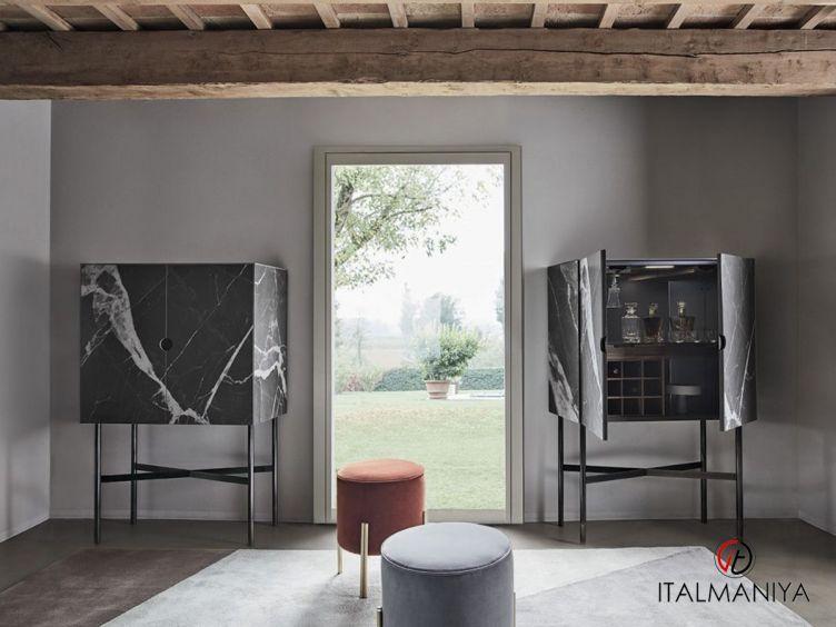 Фото 1 - Комод для гостиной для гостиной Madison Superior фабрики Bontempi Casa (производство Италия) в современном стиле из массива дерева