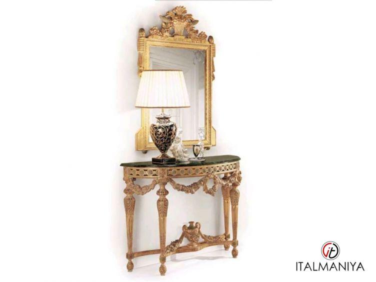 Фото 1 - Консоль Angelo Cappellini фабрики Angelo Cappellini (производство Италия) в стиле барокко из массива дерева