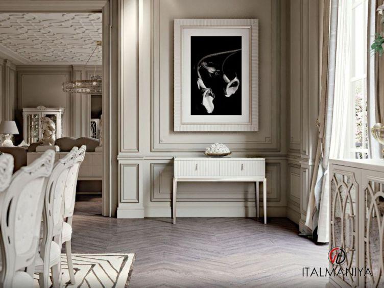 Фото 1 - Консоль Sidney фабрики Cavio (производство Италия) в стиле арт-деко из массива дерева