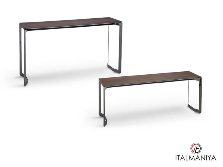 Фото 1 - Консоль Malibù фабрики Dema (производство Италия) в современном стиле из массива дерева