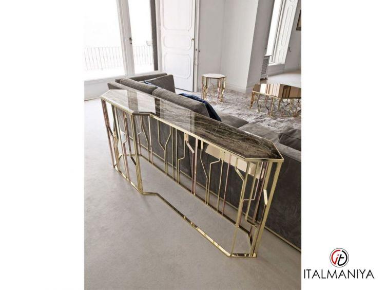 Фото 1 - Консоль Ginza фабрики Longhi (производство Италия) в современном стиле из металла