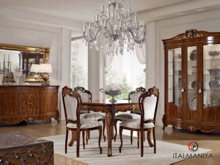 Фото 1 - Гостиная Palladio фабрики Bacci Stile (производство Италия) в классическом стиле из массива дерева