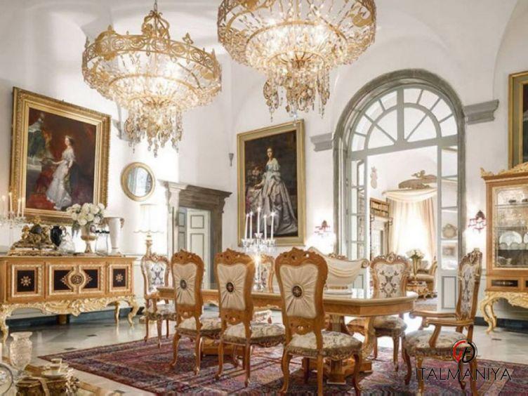 Фото 1 - Гостиная Queen Elisabeth фабрики Bacci Stile (производство Италия) в классическом стиле из массива дерева