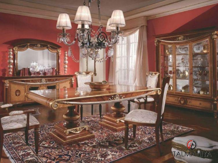 Фото 1 - Гостиная Romanica фабрики Bacci Stile (производство Италия) в классическом стиле из массива дерева