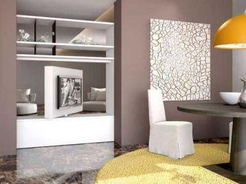 Стойка под ТВ Porta TV girevole orientabile free view 360 mood Astor Mobili