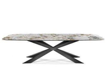 Стол обеденный Spyder Keramik Cattelan Italia